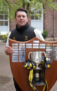 pete with schools cup