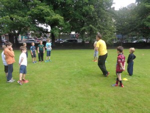 Rugby at Smile Club sports camp