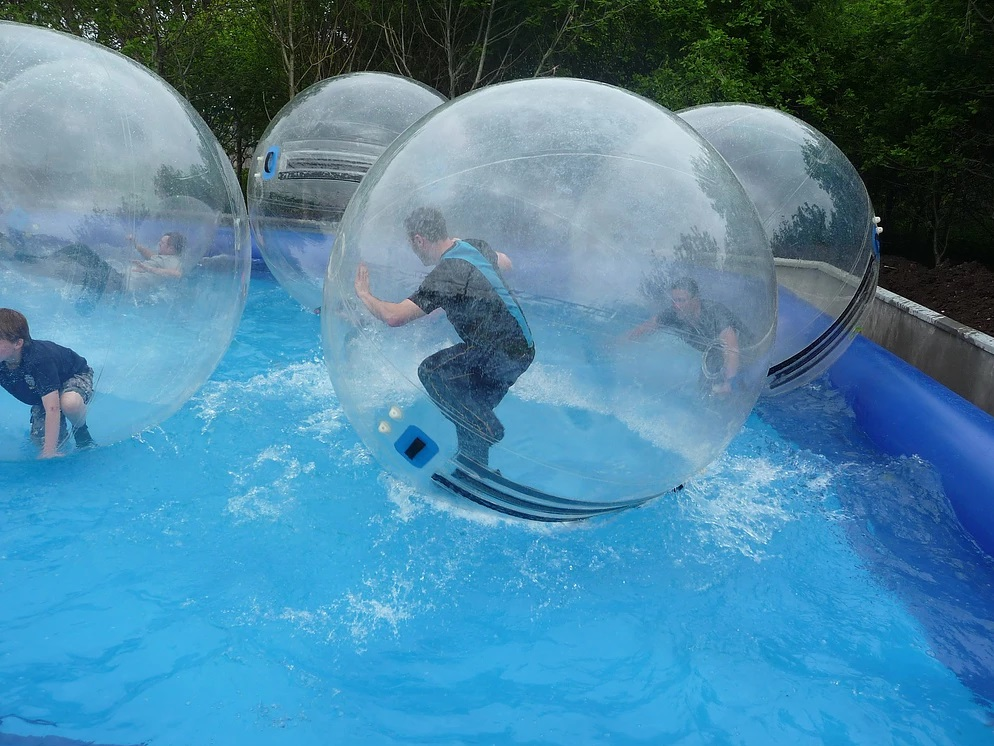 summer camps water ball