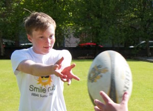 Rugby Excellence at Smile Club Ni summer scheme