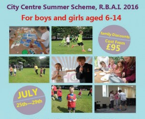 Belfast Summer Schemes