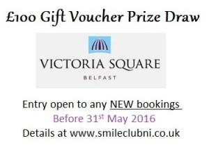 """Summer Scheme """"Victoria Square"""" £100 gift voucher prize draw!"""