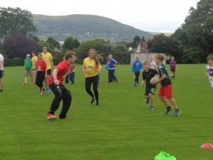 Osborne Sports Fun Day on Summer Scheme